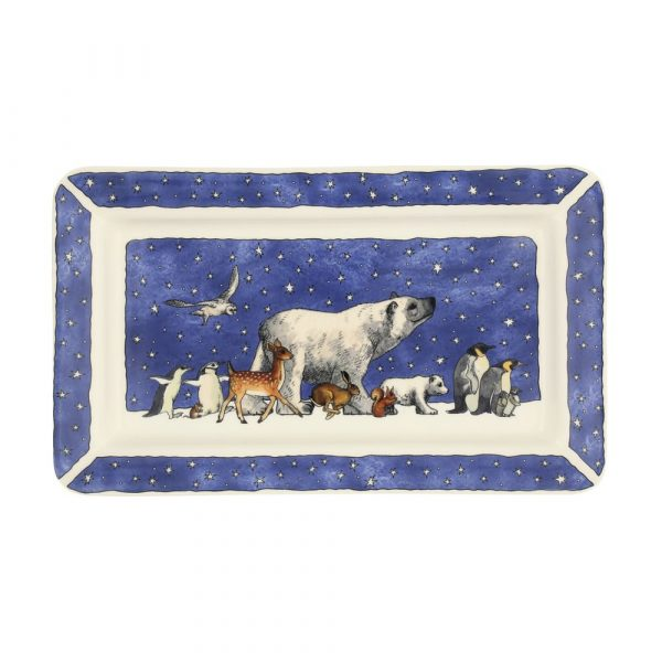 Emma Bridgewater Winter Animals Oblong Plate