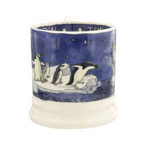 Emma Bridgewater Winter Penguins Half Pint Mug