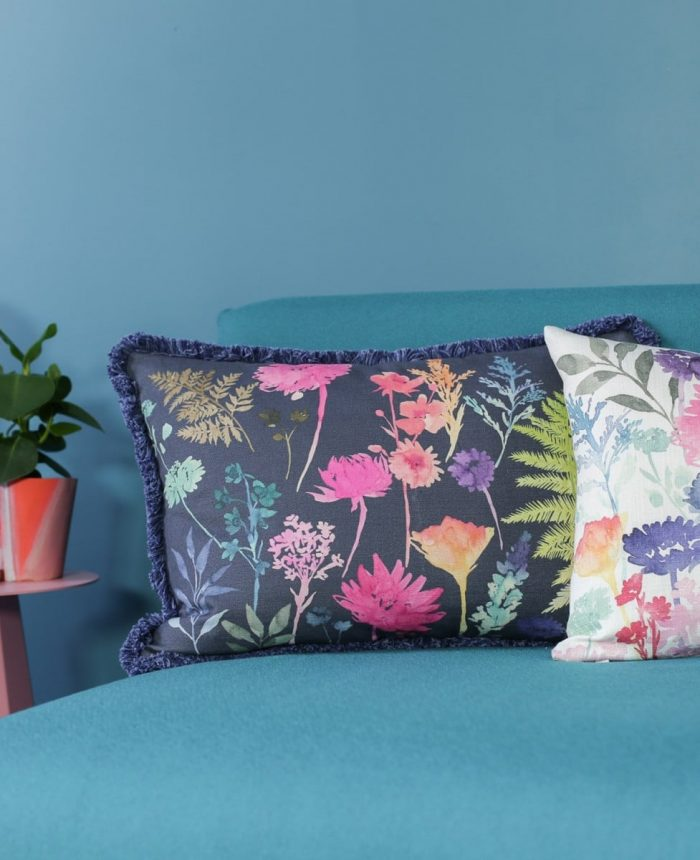 Bluebellgray Peggy Midnight Cushion - Made in the UK