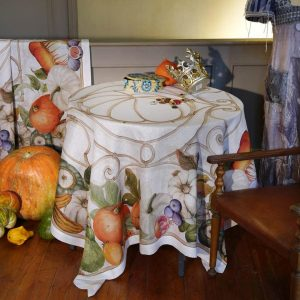 Cenerentola Tablecloth - 100% Linen Made in Italy