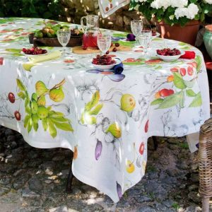 Demetra Tablecloth - 100% Linen Made in Italy