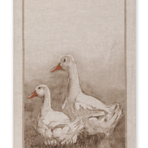 Ducks - Linen Tea Towel - Made in Italy