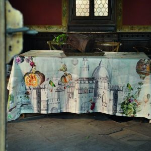 Fiaba Tablecloth - 100% Linen Made in Italy