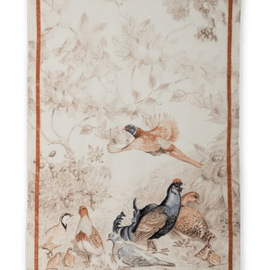 Grouse - Linen Tea Towel - Made in Italy