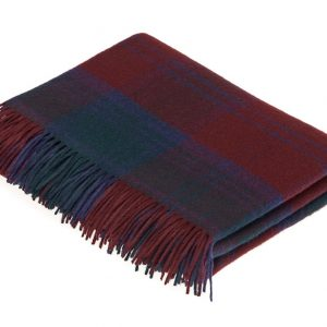 Lambswool Tartan Throw - Lindsay - Bronte by Moon