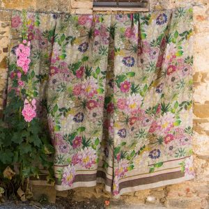 La Vie En Rose Throw - 100% Linen Made in Italy
