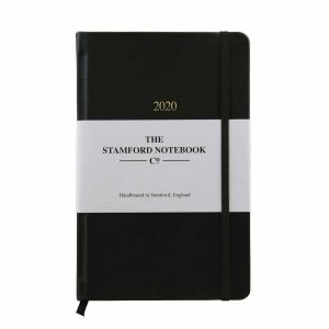 Luxury Handbound Leather Diary - The Stamford Notebook Co