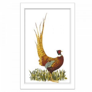 Ruffled Pheasant - Signed, Limited Edition Print by Mary Ann Rogers