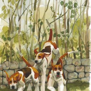 Three Over - Signed, Limited Edition Print by Mary Ann Rogers