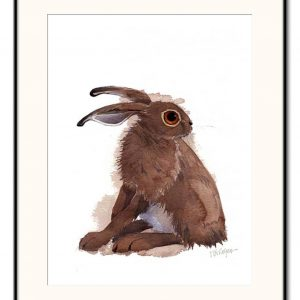 'Wary' - Signed, Limited Edition Print by Mary Ann Rogers