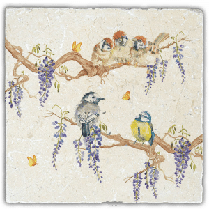 Wisteria Party Large Platter - Country Companions by Kate of Kensington