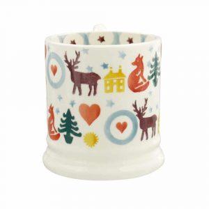 Emma Bridgewater Christmas Brights Half Pint Mug