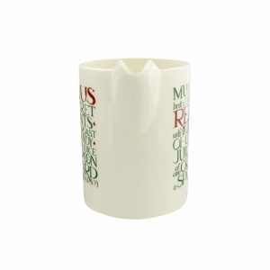 Emma Bridgewater Christmas Toast Large Straight Jug