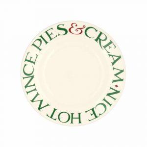 """Emma Bridgewater Christmas Toast 'Mince Pies' 8 1/2"""""""