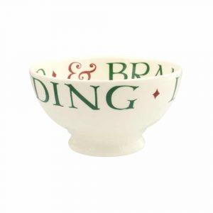 Emma Bridgewater Christmas Toast French Bowl
