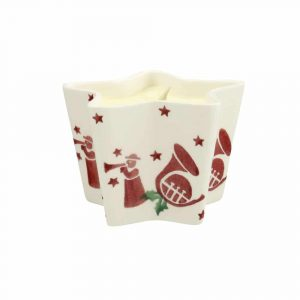 Emma Bridgewater Joy Trumpets Star Candle