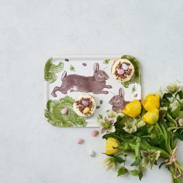 Thornback & Peel - Rabbit & Cabbage Mini Tray