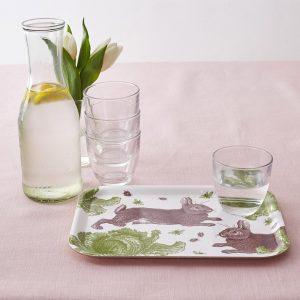 Thornback & Peel - Rabbit & Cabbage Mini Tray