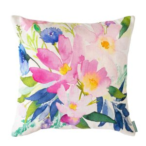 Bluebellgray Rosa Cushion - Made in the UK