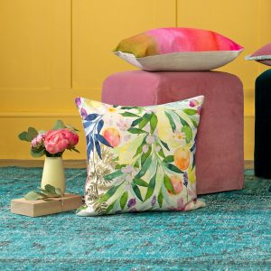 Bluebellgray Valencia Cushion - Made in the UK