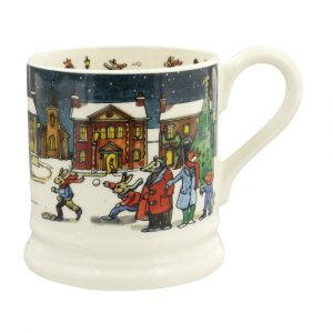 Emma Bridgewater Winter Scene 2019 Half Pint Mug