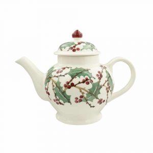 Emma Bridgewater Winterberry 4 Mug Teapot