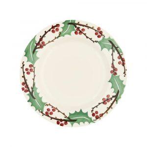 "Emma Bridgewater Winterberry 8 1/2"" Plate"