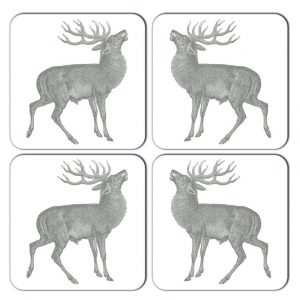 Thornback & Peel - Stag Coaster (set of four)