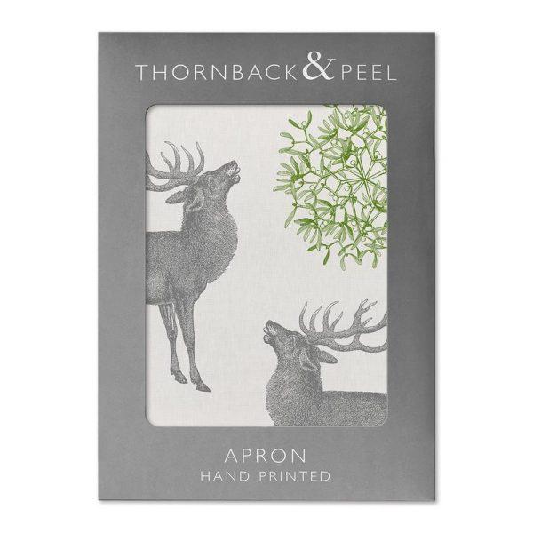 Thornback & Peel - Stag & Mistletoe Apron