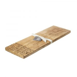 'Bread' Oak Medium Serving Board - Scottish Oak