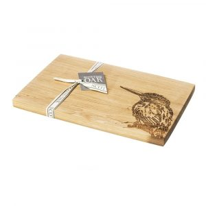 Kingfisher Serving Board - Scottish Oak