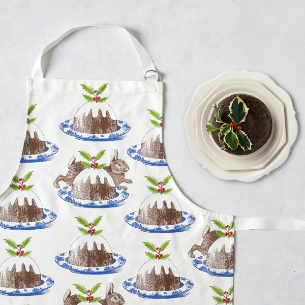 Thornback & Peel - Christmas Pudding Apron