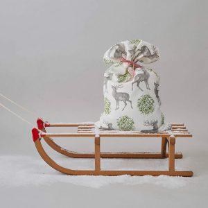 Thornback & Peel - Stag & Mistletoe Christmas Sack
