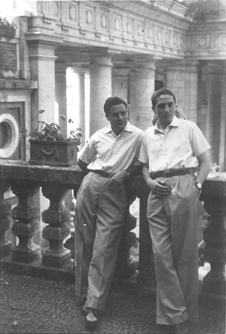 Tessitura Toscana Telerie founders Fano Puliti and Vinicio Tarli