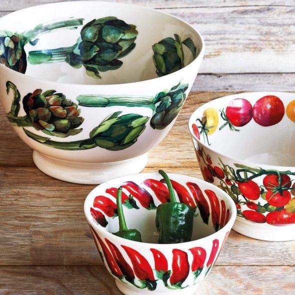 veg garden Old Bowls