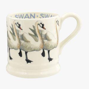 Emma Bridgewater Birds Swan 1/2 Pint Mug