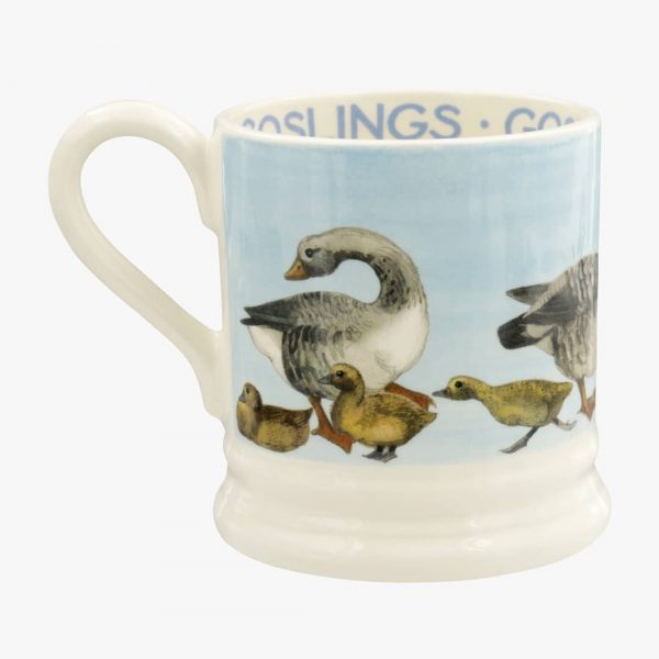 Emma Bridgewater Bright New Morning Goose & Goslings 1/2 Pint Mug