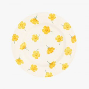 """Emma Bridgewater Buttercup Scattered 8 1/2"""" Inch Plate"""