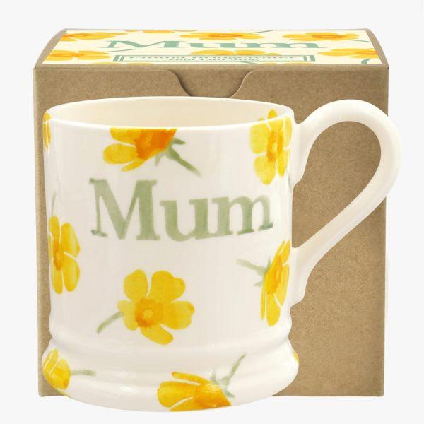 Emma Bridgewater Buttercup Scattered Mum 1/2 Pint Mug