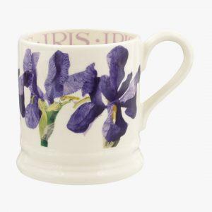 Emma Bridgewater Flowers Blue Iris 12 Pint Mug