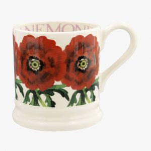 Emma Bridgewater Flowers Red Anemone 12 Pint Mug