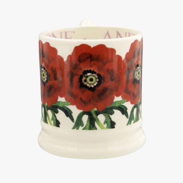 Emma Bridgewater Flowers Red Anemone 12 Pint Mug
