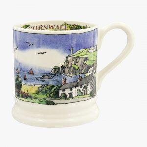 mma Bridgewater Landscapes Of Dreams Cornish Beaches 12 Pint Mug