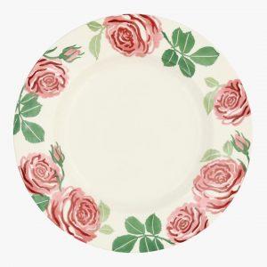 "Emma Bridgewater Pink Roses 10 1/2"" Plate"