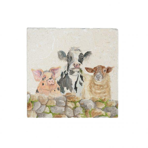 Farmyard -Medium Platter - Kate of Kensington