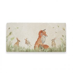 Fox & Rabbit Sharing Platter - Country Companions by Kate of Kensington