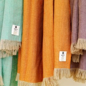 Irish Linen Throws - McNutt of Donegal