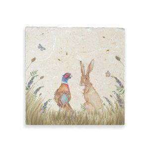 Pheasant & Hare Large Platter - Country Companions by Kate of Kensington