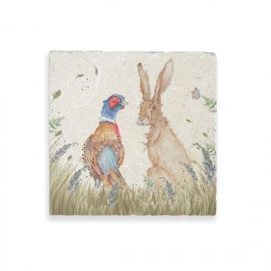 Pheasant & Hare Medium Platter - Country Companions by Kate of Kensington