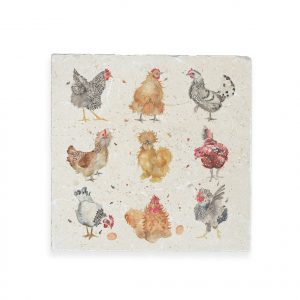 British Collection Hens Large Platter - Kate of Kensington